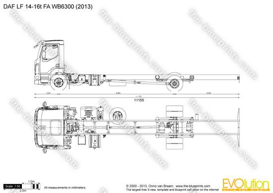 DAF LF 14-16t FA WB6300