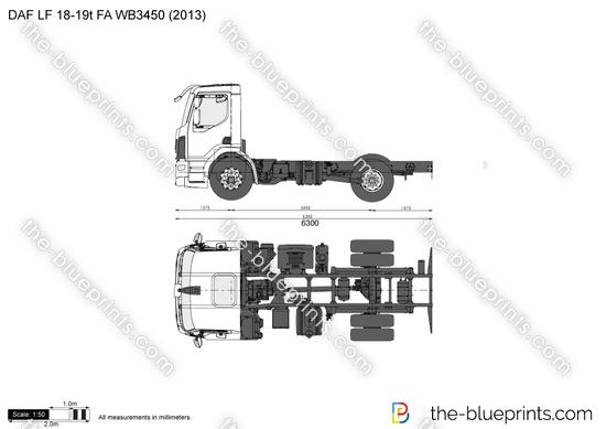 DAF LF 18-19t FA WB3450