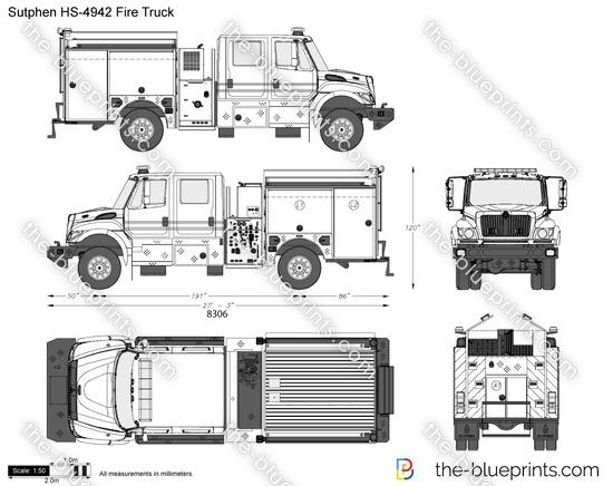 Sutphen HS-4942 Fire Truck