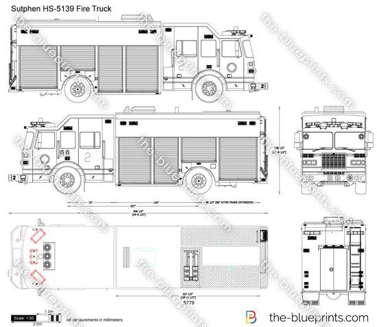 Sutphen HS-5139 Fire Truck