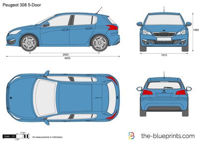 Peugeot 308 5-Door (2013)