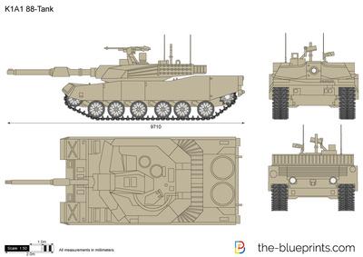 K1A1 88-Tank