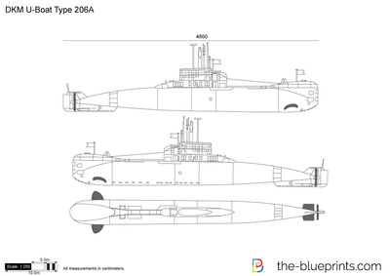 DKM U-Boat Type 206A