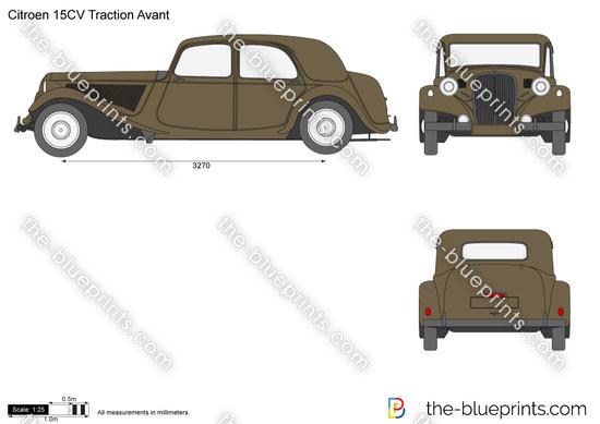 Citroen 15CV Traction Avant