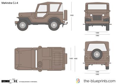 Mahindra CJ-4