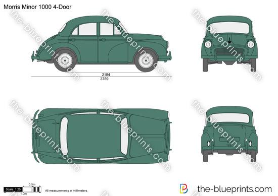 Morris Minor 1000 4-Door