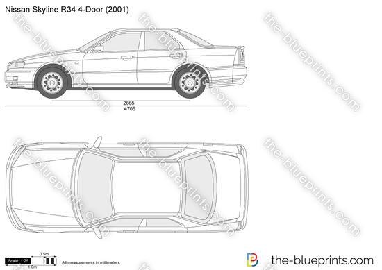Nissan Skyline R34 4-Door