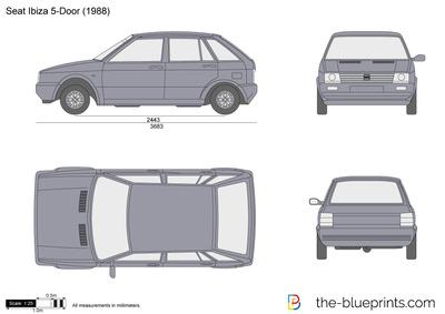 SEAT Ibiza 5-Door (1988)