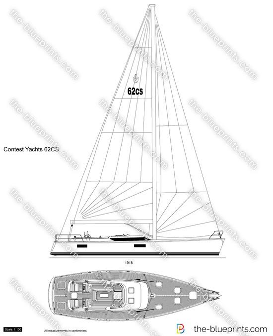 Contest Yachts 62CS