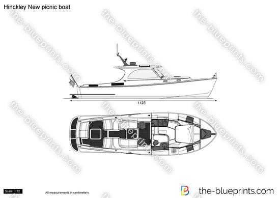 Hinckley New picnic boat