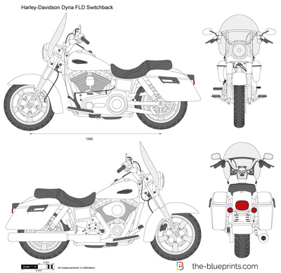 Harley-Davidson Dyna FLD Switchback