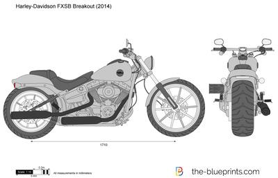 Harley-Davidson FXSB Breakout (2014)