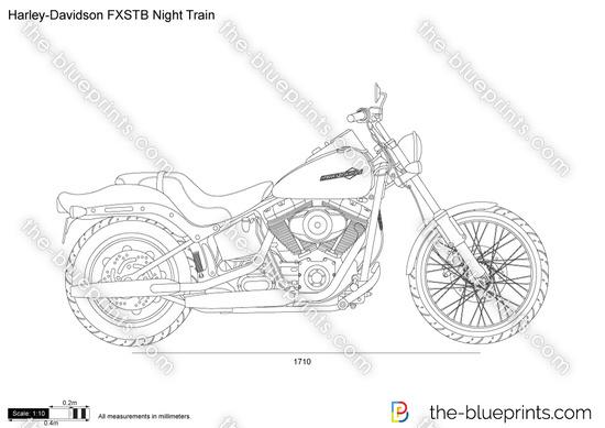 Harley-Davidson FXSTB Night Train