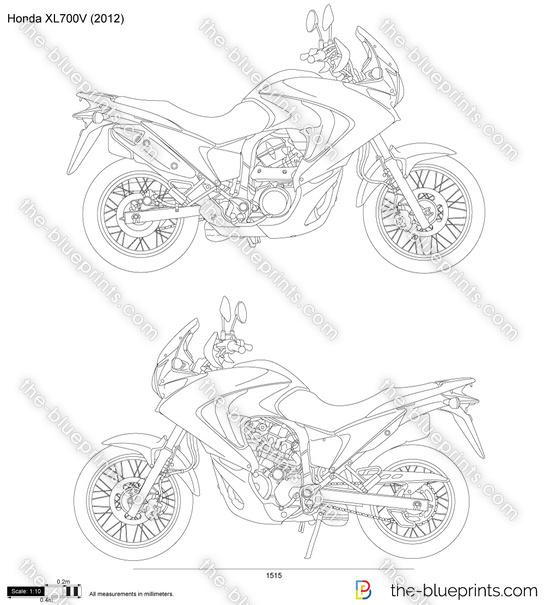 Honda XL700V