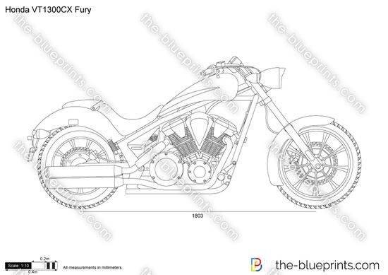 Honda VT1300CX Fury