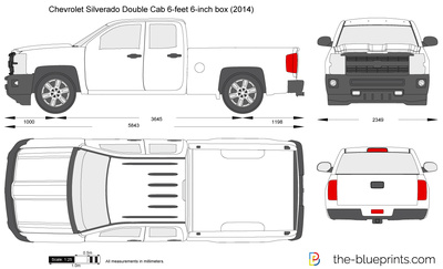 Chevrolet Silverado Double Cab 6-feet 6-inch box