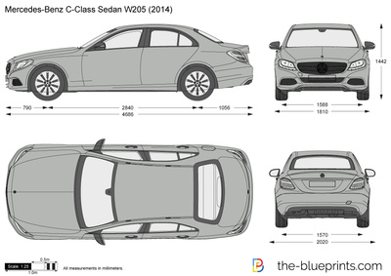 Mercedes-Benz C-Class Sedan W205