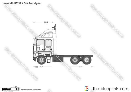 Kenworth K200 2.3m Aerodyne