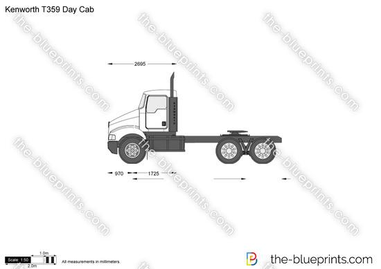 Kenworth T359 Day Cab