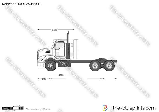 Kenworth T409 28-inch IT