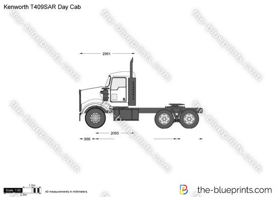 Kenworth T409SAR Day Cab