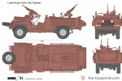Land Rover SAS Pink …