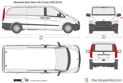 Mercedes-Benz Vito Combi LWB