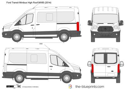 Ford Transit Minibus High Roof MWB