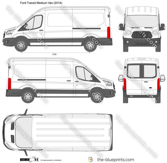 Ford Transit Minibus Medium Roof LWB