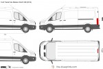 Ford Transit Van Medium Roof LWB
