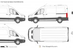 Ford Transit Van Medium Roof MWB