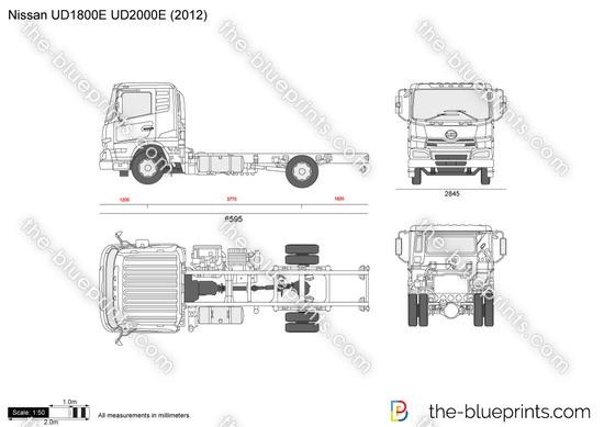 Nissan UD1800E UD2000E
