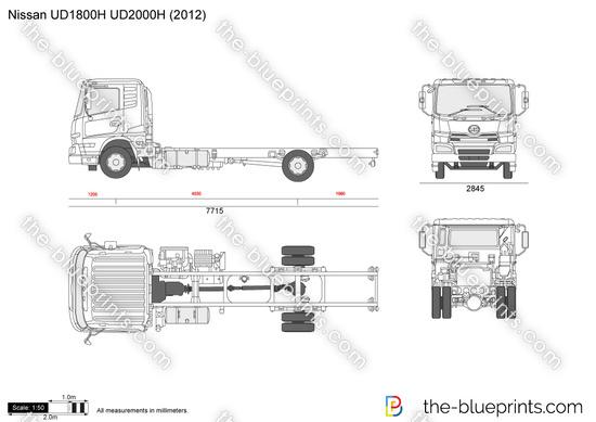 Nissan UD1800H UD2000H