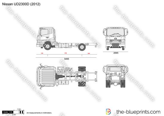 Nissan UD2300D