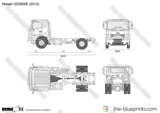 Nissan UD2600E