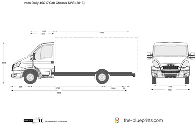 Iveco Daily 45C17 Cab Chassis SWB