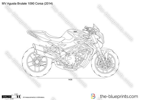 MV Agusta Brutale 1090 Corsa