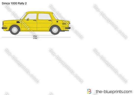 Simca 1000 Rally 2