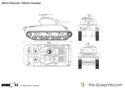 M4A3 Sherman 105mm Howitzer