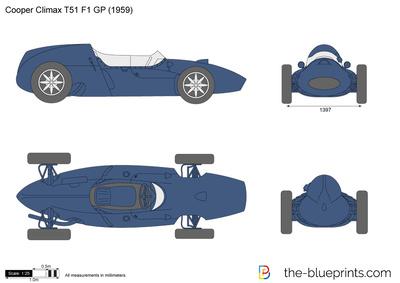 Cooper Climax T51 F1 GP (1959)
