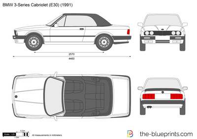BMW 3-Series Cabriolet E30