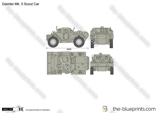 Daimler Mk. II Scout Car