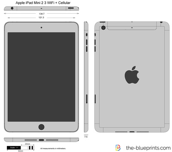 Apple iPad Mini 2 3 WiFi + Cellular