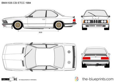 BMW 635 CSI ETCC