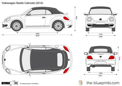 Volkswagen Beetle Cabriolet (2014)