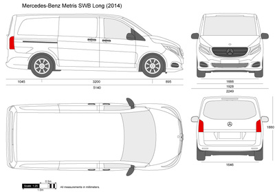 Mercedes-Benz Metris SWB Long W447