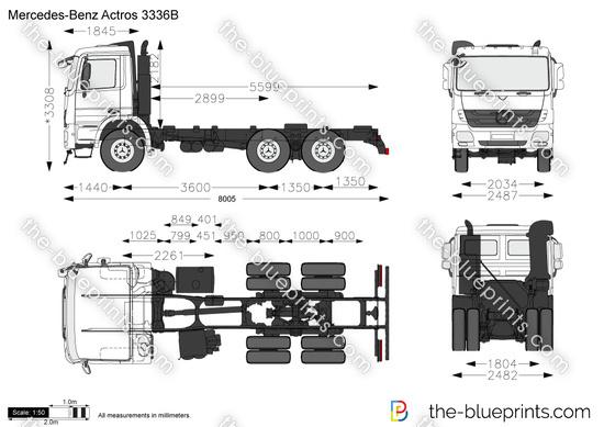 Mercedes-Benz Actros 3336B