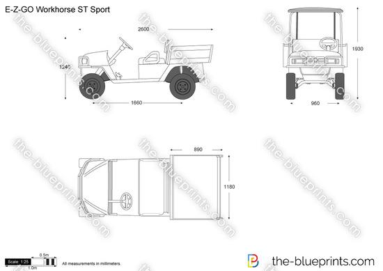 E-Z-GO Workhorse ST Sport