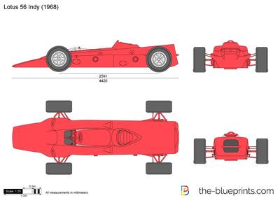 Lotus 56 Indy (1968)