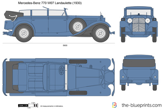 Mercedes-Benz 770 W07 Landaulette